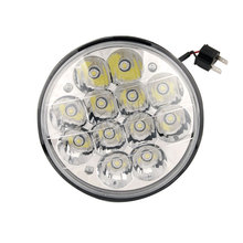 2pcs 36W 5in headlight round tractor headlamp for John deere DEUTZ FAHR CASE FENDT JCB CLAAS 4000/4040/5506/H5001/H5006/H5006LL