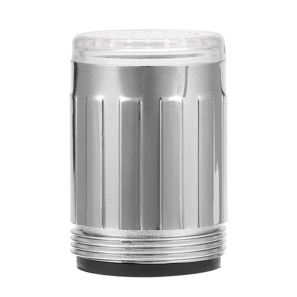 3 цвета/один цвет светодиодный светильник кран для душа водопроводный датчик температуры без батареи кран для воды светящийся душ левый винт