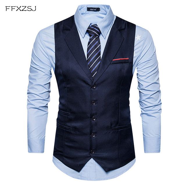 2018 Mens Classic Vest Male Suit Vintage Vest Wedding Gilet Homme Men Formal Vest Business Waistcoat Coletes kingsman Costume
