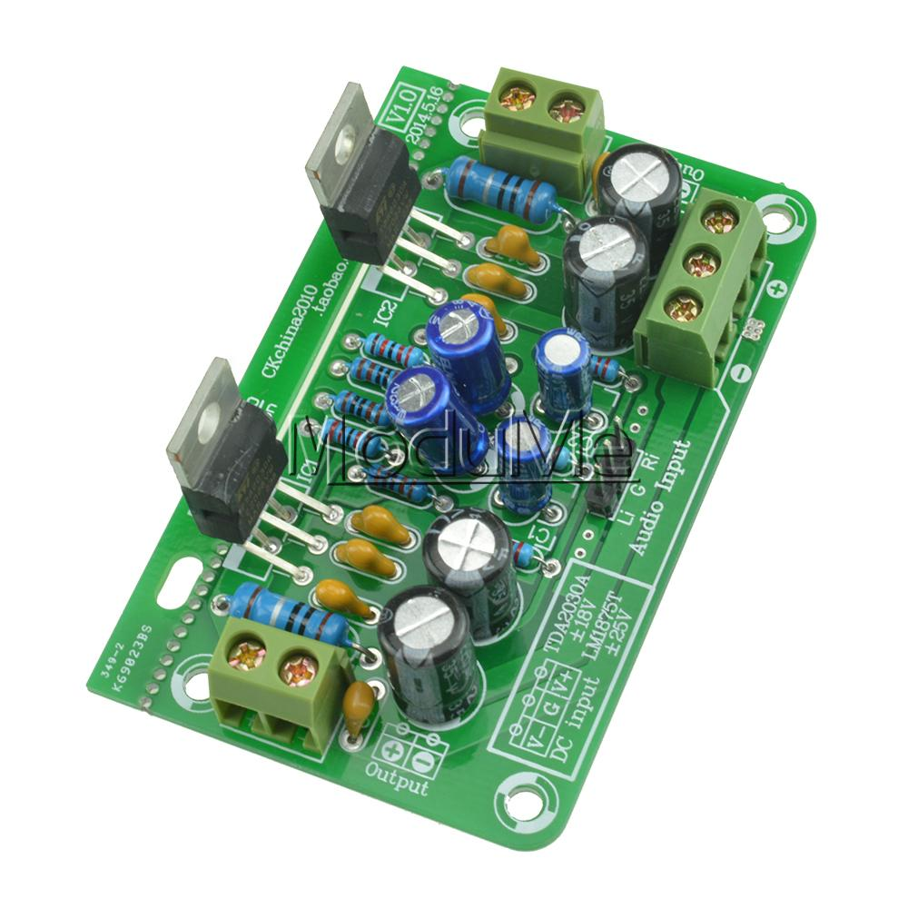 Big Deal Stereo Audio Power Tda2030a Amplifier Board Ocl 18wx2 Kit Mono Compatible Lm1875t