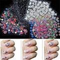 Kai yunly 30 PCS Projeto Da Flor Acessórios Dicas Da Arte Do Prego Adesivos de Unhas Decalques Decoração Adesivo DIY Manicure Set 30