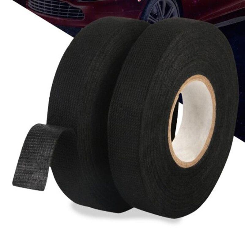 Protection de tissu de harnais de métiers à tisser de bande de harnais résistant à la chaleur de voiture de 19mm x 15 M pour Vw Hyundai Toyota Nissan Audi Skoda Renault Opel