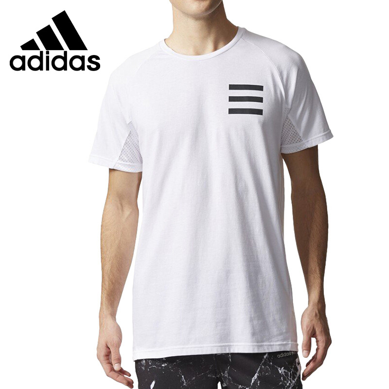 US $52.2  Original New Arrival 2017 Adidas NEO Label M GRAPHIC TEE Men's T shirts short sleeve Sportswear in Skateboarding T Shirts from Sports &