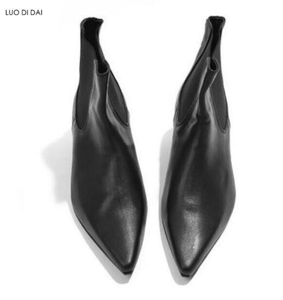 Модные мужские сапоги на высоком каблуке змеиный принт Кожаные Ботинки Челси мужские вечерние туфли с острым носком в западном стиле; мужск