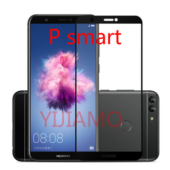 P Smart 3D 9H Tempered Glass for Huawei P Smart 2019 PSmart plus 9H arc Full Cover Protective Film Screen Protector for P Smart image