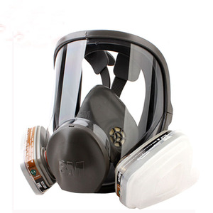 Image 4 - 17 In 1 Original 3M 6800 Safety Full Face Respirator Gas Mask Industry Protection Anti Dust Mask Medium