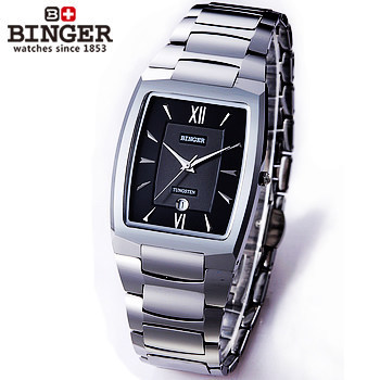 Newest Girls Boys Watch Ultra thin Design Fashion Unisex Square Steel Strap Watches Wholesale&retail Hot Sale Binger Wristwatch hot horloge new desigh hot sale colorful boys girls students time electronic digital wrist sport watch 2017may10