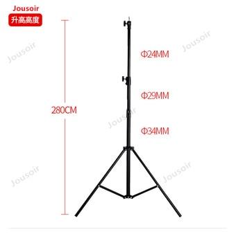 Photographic light stand 2. 8m aluminum alloy lamp frame Photo Bracket studio Lighting shooting Photography tripod CD50 T03