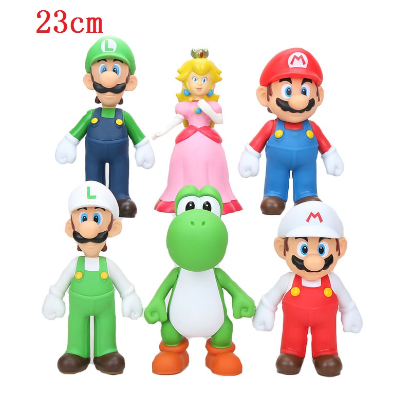 HOT Super Mario Bowser PVC Figure Model Toy Gift Decoration Collection