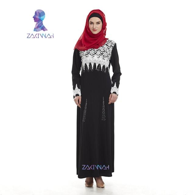 Новые женщины дубай абая исламской одежды кружева длинные турецкие одежда мода Мусульманские платья плюс размер кафтан abayas для женщин взрослых