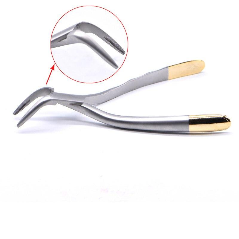 Fragment de racine dentaire Extraction de dents mini-Invasive pince à dents Instrument dentaire dents maxillaires mandibulaires incurvées
