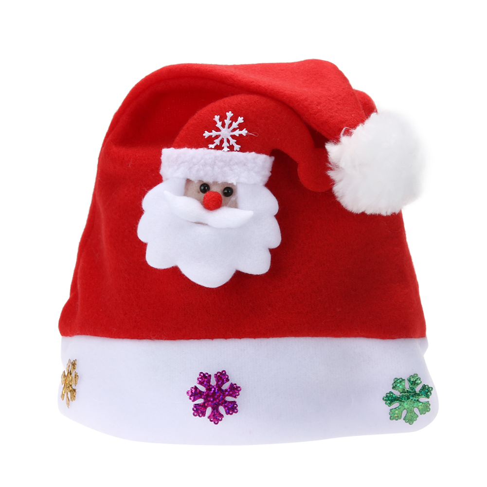 Christmas Hats.Us 1 08 34 Off Christmas Hats New Years Christmas Party Santa Hat Red And White Cap Christmas Hat For Santa Claus Costume Christmas Decoration In