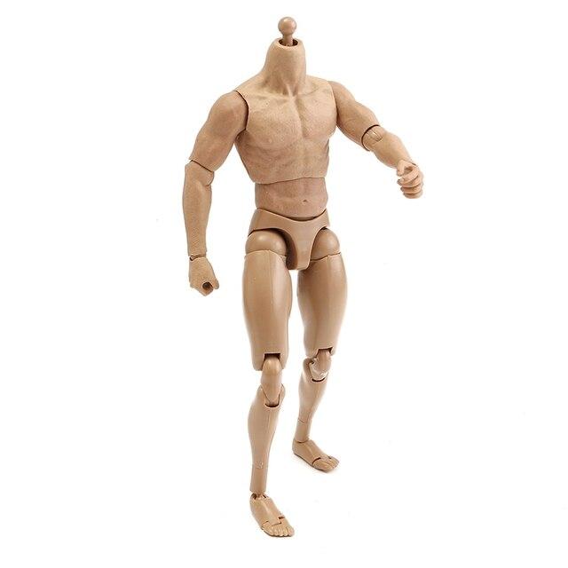 Nuevo 1/6 Escala Figura de Acción Desnudo Masculino Músculo Del ...