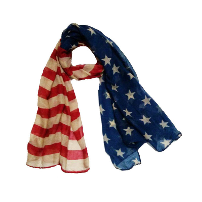 Online Buy Wholesale american flag scarf from China ...
