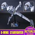 Lepin 05045 1487 pcs Genuine New Star Series Guerra A B-asa Starfighter Blocos Tijolos Brinquedos Educativos Presente 10227