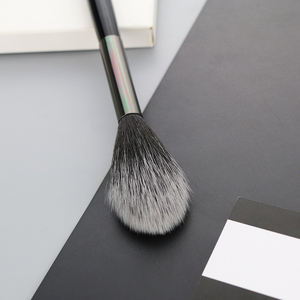 Image 4 - BEILI 1 piece Black Professional Synthetic Makeup brushes Highlighter Blending Blush Eyebrow Eyeliner make up brushes