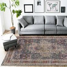 Alfombra Vintage India de estilo étnico, alfombras con personalidad para el hogar, tapete nórdico bohemio para mesa de centro, tapete para sala de estar, alfombra