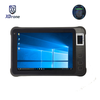 China K75 Fingerprint Reader Windows Access Control Tablet PC UHF RFID IP67 Waterproof 7 1280x800 HDMI 2D Barcode Scanner PDA