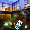2016 Red Blue 8 Patterns Remote Control Outdoor Star Light Projector Waterproof Laser Christmas Tree Garden