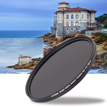 ND Lens Filter Adjustable ND2 to ND400 Neutral Density 52MM 55MM 58MM 62MM 67MM 72MM 77MM Slim ND2-400 HD Fader Variable цена