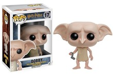Funko POP Movies Harry Potter Dobby Action Figure Collectible Model Toys Great quality Christmas Gift(China (Mainland))