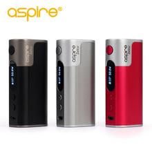 Aspire зелос 50 Вт mod электронная сигарета зелос 2500 мАч Батарея VAPE mod матч с Наутилус 2 вапоризатора электронной сигареты mod