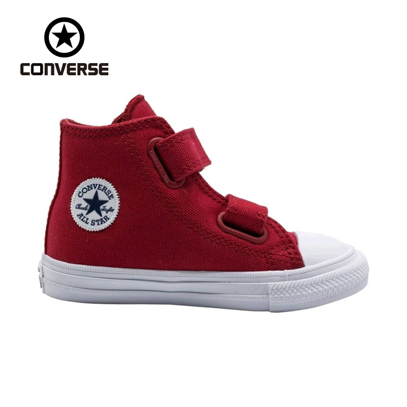 CONVERSE New Original Unisex Kids All Stars Canvas High Top Shoes Baby Girl Boys Skateboarding Shoes Casual Sneakers original new arrival converse unisex high top skateboarding shoes canvas sneakers