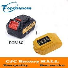 20V 4000mAh Power Tools Batteries Replacement Cordless for Dewalt DCB181 DCB182 DCD780 DCD785 DCD795+USB Power Source