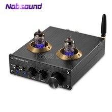 Nobsound Bluetooth 4.0 HiFi Vacuum 6J1 Tube wzmacniacz cyfrowy klasa D radio HiFi wzmacniacz mocy zintegrowane domowe audio