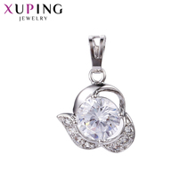 Xuping Jewelry Classic Fresh Attractive Style Pendant New Products Sliding Heart for Ladies Christmas Gift S119,6-33260