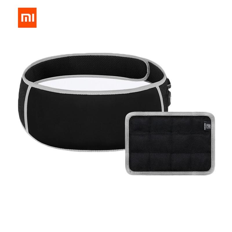 купить Original Xiaomi Mijia PMA F10 Graphene Therapy Heating Salt Moxibustion Waist Belt 3 Gear Ultralight Body Heater Massager по цене 2970.81 рублей