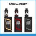 Original smok elektronik sigara alienígena kit 220 w caixa mod 3 ml tfv8 bebê tanque vaporizador vape cigarro eletrônico kit
