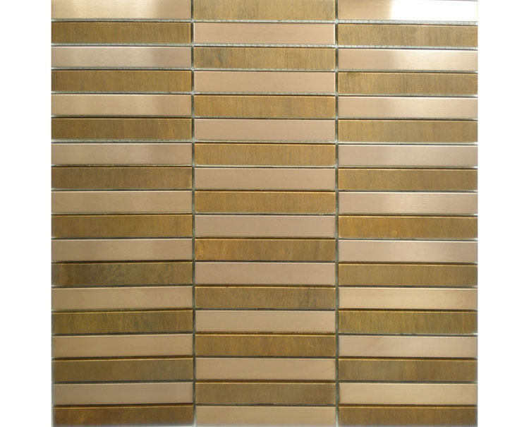 free shipping bronze metal mosaic tiles for bathroom wall mosaic tiles kitchen backsplash tiles home improvement