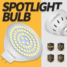 E27 Spotlight Bulb E14 Lampada Led Light Bulbs 4W 6W 8W 2835 GU10 Ampoule LED Lamp for Home Lighting MR16 220V B22 48 60 80leds цена в Москве и Питере