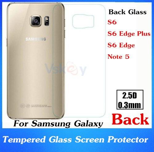 bilder für 20 stücke 2.5D 0,3mm Schwarz Film Gehärtetem Glas Für Samsung Galaxy S6 Rand Plus Displayschutzfolie Explosionsgeschützte Anti-Shatter