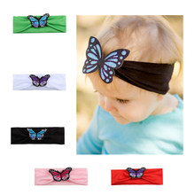 Baby Child Girl Headband Dress up Newborn Beautiful Baby Hairband Cartoon Butterfly Headband Children Hair Accessories(China)