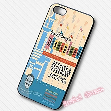 The Happiest Place on Earth Phone Case  For iPhone SE 4 4S 5S 5 5C 6 6S Plus 7 7Plus Samsung Galaxy S3 S4 S5 MINI S6 S7