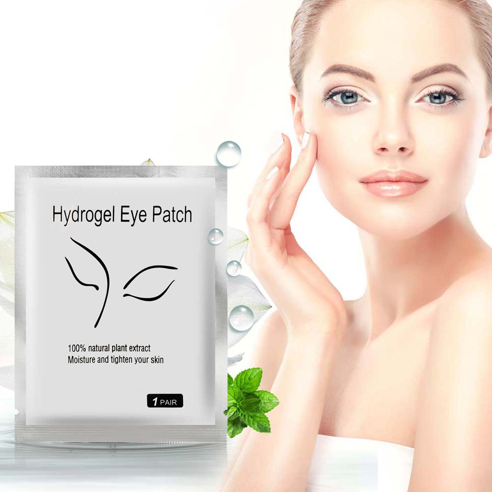 10pcs/set Hydrogel Eye Patch Mask Moisture and Tighten Skin Remove the Dark Circle Wrinkle Vitamina c Face Care Under Eye Pads