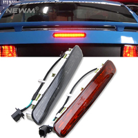 1x Red Lens Super Bright 16 LED Third 3rd Brake Light For 2005 2009 Ford Mustang