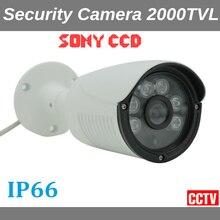 PBFZ Waterproof IP66 2000tvl CCTV Camera 1 3 Sony CCD with Night vision Day Night Home