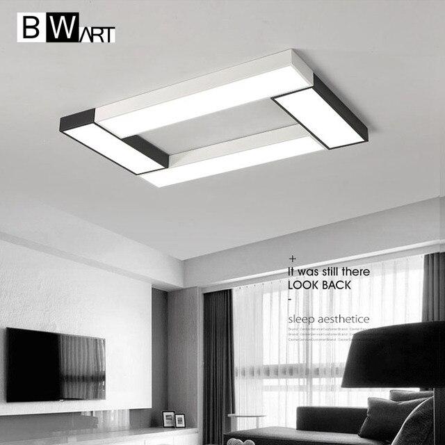 BWART Modern LED chandelier Simple style Smart home Lighting Large ...