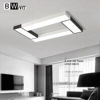 BWART Modern LED Chandelier Simple Style Smart Home Lighting Large Art Creative Chandelier Bedroom Living Room