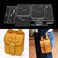 1 Set Acrylic Leather-based Template Dwelling Handwork Leathercraft Stitching Sample Instruments Accent Envelope bag 24.5*31*2cm HTB1