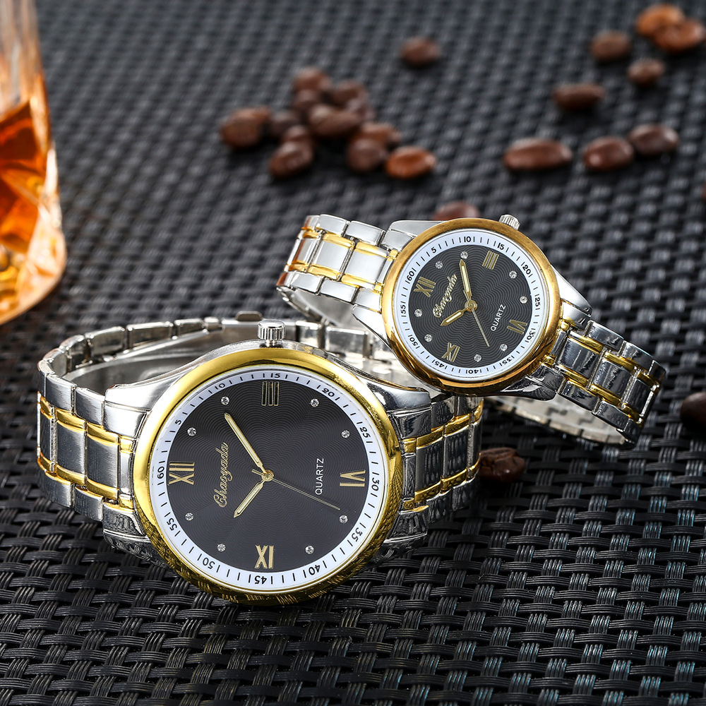 2018 new women men couples lovers stainless steel diamond business quartz watches ladies luxury gold sliver bracelet watches2018 new women men couples lovers stainless steel diamond business quartz watches ladies luxury gold sliver bracelet watches