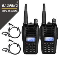 מכשיר הקשר 2pcs Baofeng UV-B6 Portable מכשיר הקשר UV B6 שני הדרך רדיו Dual Band VHF / UHF Woki טוקי 5W FM משדר רדיו (1)