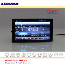 Liislee Car Android GPS NAVI Navigation System For Nissan Rogue Select 2014~2015 Radio Stereo Multimedia Video ( No DVD Player )