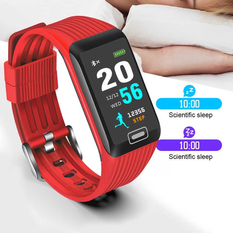 ece7140bbb05 ... BANGWEI 2019 nuevo reloj inteligente de las mujeres de los hombres  Fitness Tracker de Monitor de ...