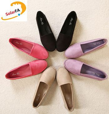Women's new round toe loafers flats shoes for sping PR1740 casual quality black purple pink khaki female ladies plus size flats plus size 34 41 black khaki lace bow flats shoes for womens ds219 fashion round toe bowtie sweet spring summer fall flats shoes
