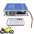 HY502 Hi-Fi Mini Digital Motorcycle Auto Car Stereo Power Amplifier Sound Mode Audio Music Player Support USB MP3 DVD CD FM SD