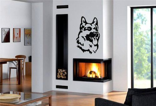 Qt017 German Shepherd Dog Wall Stickers Home Decor Vinyl Decal Sticker Home Decoration China